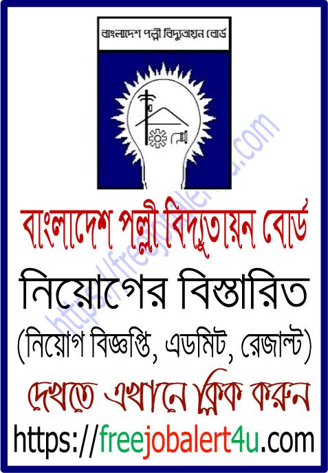 Bangladesh Rural Electrification Board (BREBHR) Job Circular