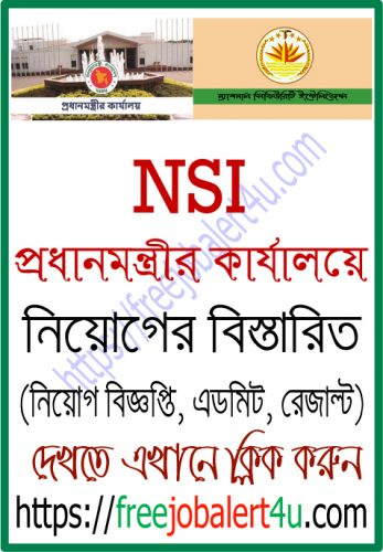 NSI Exam Date and Seat Plan 2019