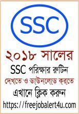 SSC Routine 2018