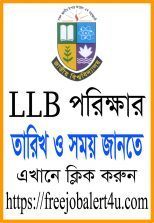 LLB Final year new exam date and time